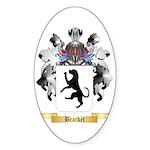 Bracket Sticker (Oval)