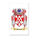 Bracken Rectangle Car Magnet
