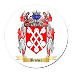 Bracken Round Car Magnet