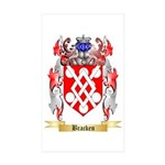 Bracken Sticker (Rectangle 50 pk)