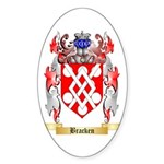Bracken Sticker (Oval 10 pk)