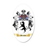 Brachet Oval Car Magnet