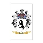 Brachet 20x12 Wall Decal