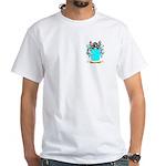 Bracegirdler White T-Shirt