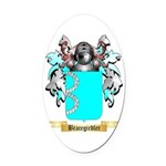 Bracegirdler Oval Car Magnet