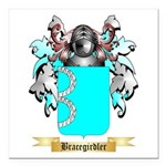 Bracegirdler Square Car Magnet 3