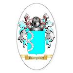 Bracegirdler Sticker (Oval 50 pk)