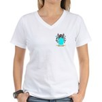 Bracegirdle Women's V-Neck T-Shirt