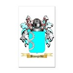 Bracegirdle Rectangle Car Magnet