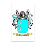 Bracegirdle 35x21 Wall Decal