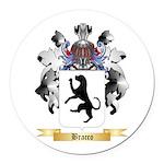 Bracco Round Car Magnet