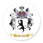Bracchi Round Car Magnet