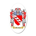 Brabson 35x21 Oval Wall Decal
