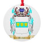 Braben Round Ornament