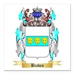 Braben Square Car Magnet 3