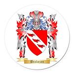 Brabazon Round Car Magnet