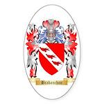 Brabanchon Sticker (Oval 50 pk)