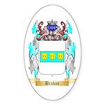 Braban Sticker (Oval 50 pk)