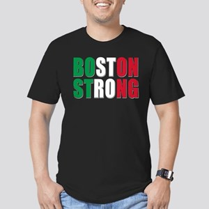 Italian Boston Pride Men's Fitted T-Shirt (dark)