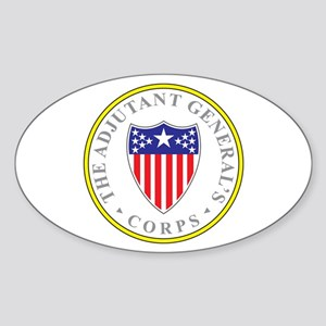 ADJUTANT-GENERAL-CORP Rectangle Sticker