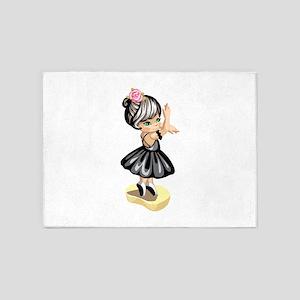 Ballet Dreams 5'x7'Area Rug