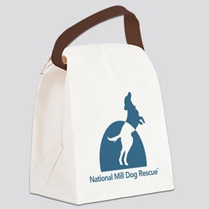 National Mill Dog Rescue Canvas Lunch Bag