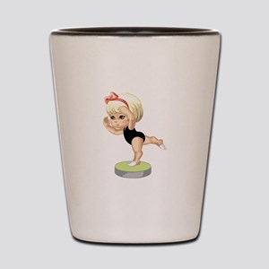 Ballet Lessons Shot Glass