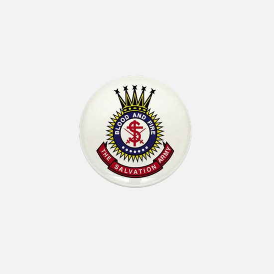 Salvation Army Crest Mini Button