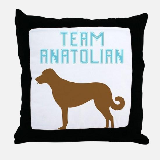Anatolian Shepherd Dog Throw Pillow