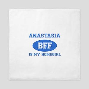 Anastasia is my home girl bff designs Queen Duvet