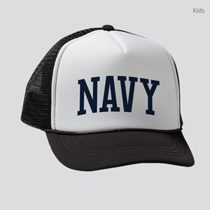 Navy Kids Trucker hat