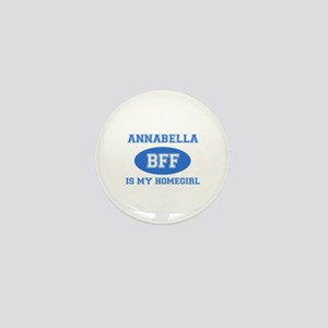 Annabella is my home girl bff designs Mini Button