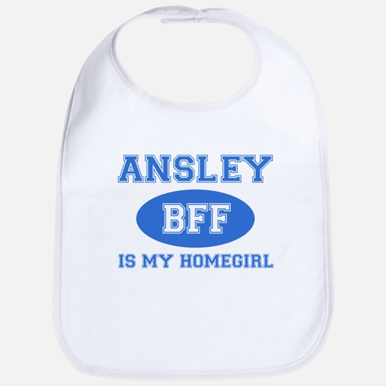 Ansley is my home girl bff designs Bib