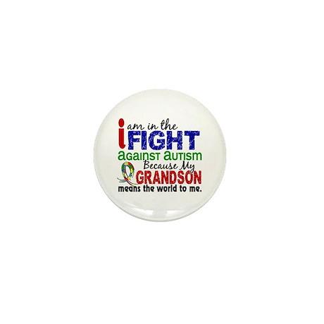 In The Fight 2 Autism Mini Button