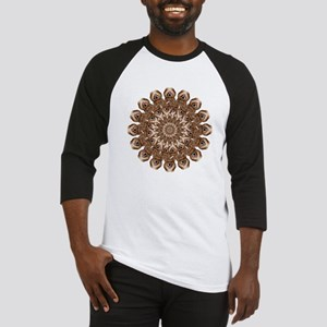 Geo Mercy Peacock Circle Baseball Jersey