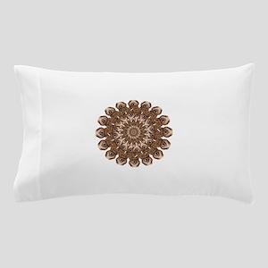 Geo Mercy Peacock Circle Pillow Case