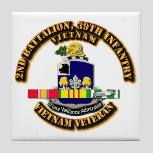 Army - 2nd Battalion, 39th Infantry w SVC Ribbons