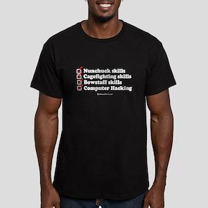 Skills checklist ~ Black T-Shirt