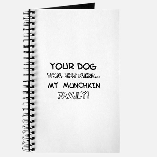 Munchkin Cat designs Journal