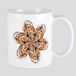 Geo Corgi OC Flower Mug