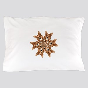 Geo corgi Pip 6 Pillow Case