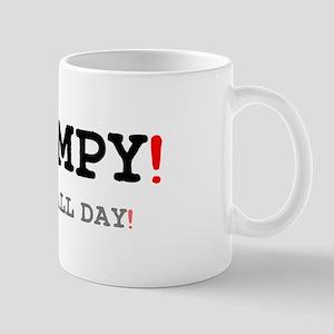 GRUMPY - MOANS ALL DAY! Small Mug