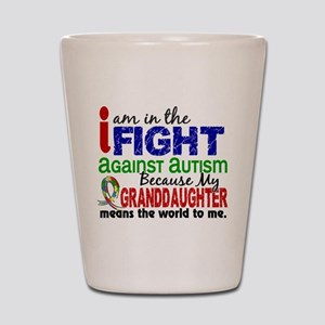 In The Fight 2 Autism Shot Glass