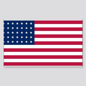 US - 35 Stars Flag Sticker