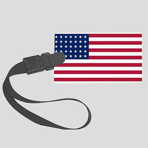 US - 35 Stars Flag Luggage Tag
