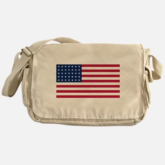 US - 35 Stars Flag Messenger Bag