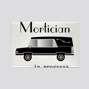 Mortician in progress Rectangle Magnet (10 pack)