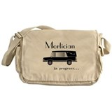 Mortician Canvas Messenger Bags