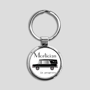 Mortician in progress Keychains