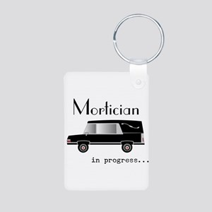 Mortician in progress Keychains